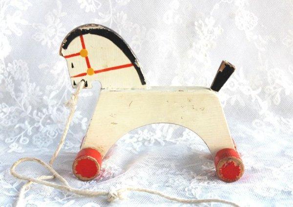画像1: 木馬の遊具 (1)