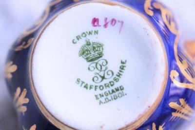 画像1: スタッフォードシャー カップ&ソーサー