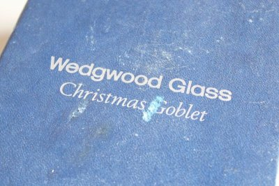 画像1: ウェッジウッド クリスマスゴブレット